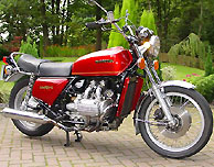 1976 Honda GL1000 Gold Wing