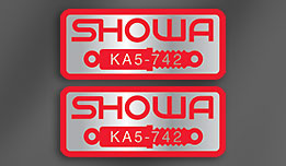 Showa decals