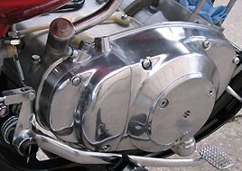 1968 Suzuki TC250 clutch cover