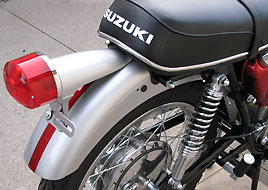 1968 Suzuki TC250 tail light
